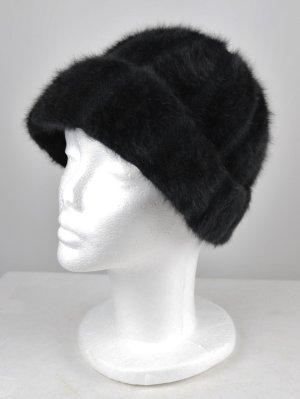 Vintage Chapeau cloche noir