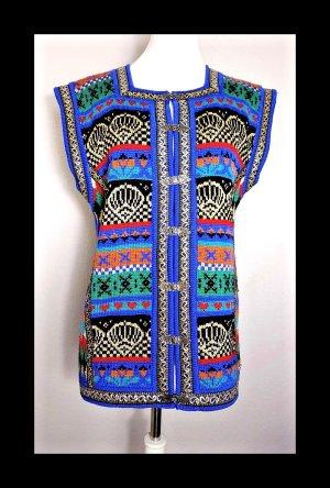 Vintage Knitted Vest multicolored
