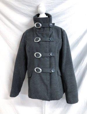 True Vintage Wełniany płaszcz Wielokolorowy