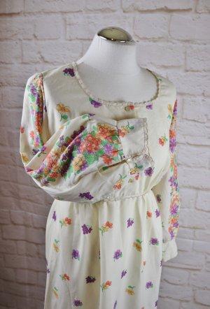 Vintage Robe Hippie multicolore polyester
