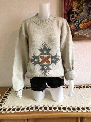 Truevintage Vintage Wollpullover Pulli Pullover Einheitsgröße Oversize