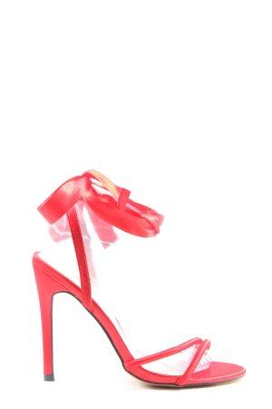 Truffle Collection High Heel Sandaletten rot Elegant