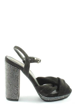 Truffle Collection High Heel Sandaletten schwarz Elegant