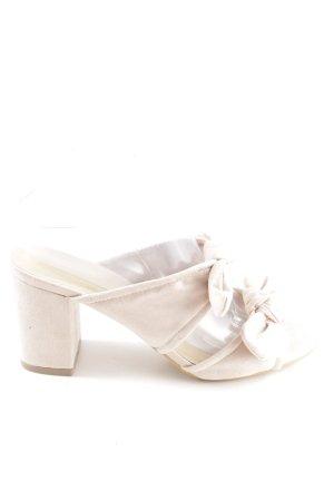 Truffle Collection Riemchen-Sandaletten altrosa Romantik-Look