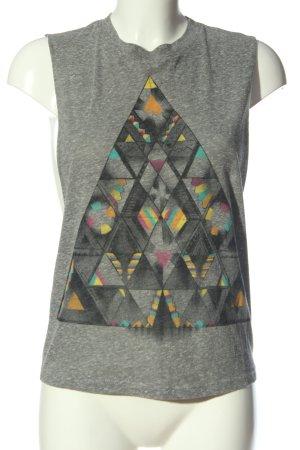 Truly Madly Deeply T-shirt grigio chiaro puntinato stile casual