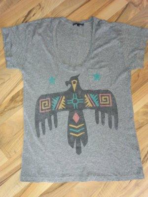 Truly Madly Deeply Camicia oversize multicolore Tessuto misto