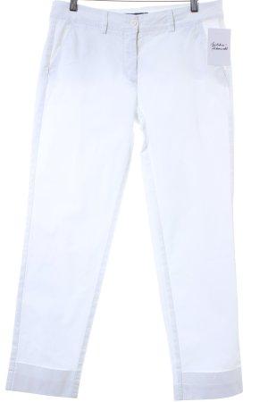 Trussardi 7/8 Jeans weiß Casual-Look