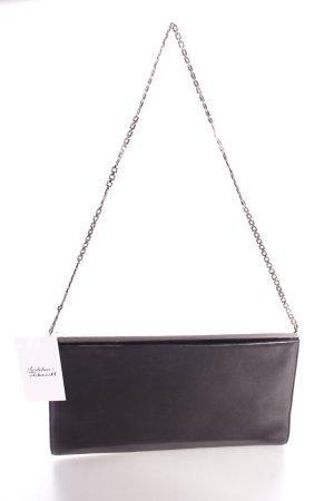 Trussardi Clutch schwarz klassischer Stil