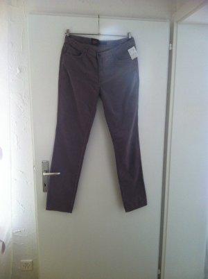 Trussardi Jeans Pantalón de pana marrón grisáceo-taupe Algodón