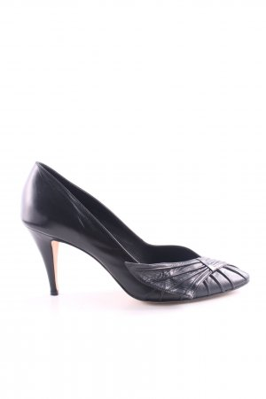 Trussardi Hochfront-Pumps schwarz Business-Look