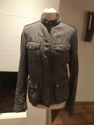 Trussardi Jeans Military Jacket grey