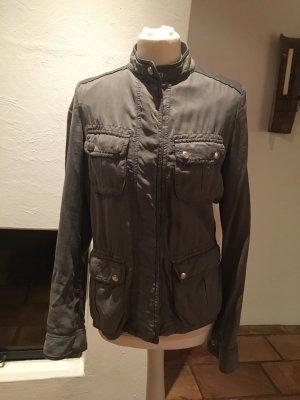 Trussardi Jeans Giacca militare grigio