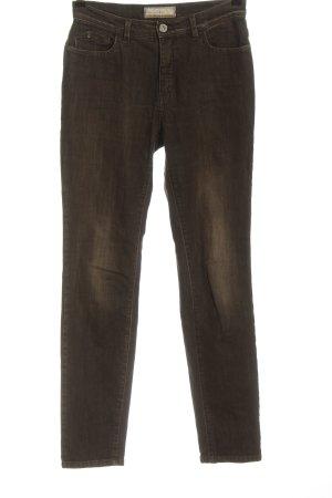 Trussardi Jeans High Waist Jeans braun Casual-Look