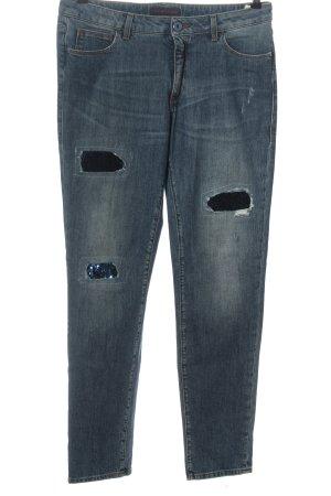 Trussardi Jeans Skinny Jeans blau Casual-Look