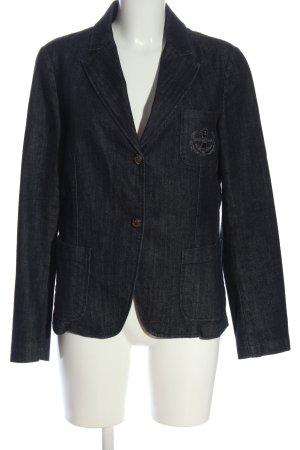 Trussardi Jeans Jeansjacke schwarz Casual-Look