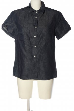 Trussardi Jeans Short Sleeve Shirt blue casual look