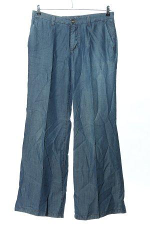 Trussardi Jeans Vaquero Marlene azul look casual