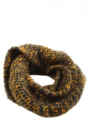 Trussardi Jeans Snood sleutelbloem-bruin gestippeld straat-mode uitstraling