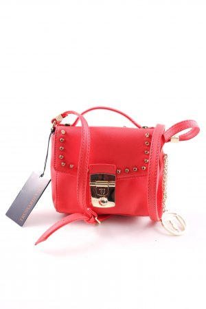 Trussardi Jeans Schultertasche rot Casual-Look