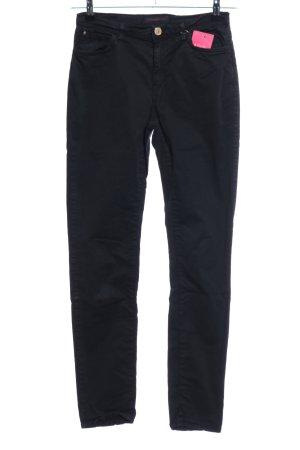Trussardi Jeans Skinny Jeans schwarz Casual-Look