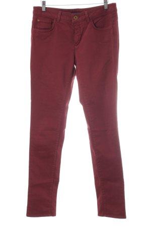 Trussardi Jeans Skinny Jeans ziegelrot Casual-Look