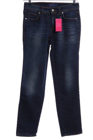 Trussardi Jeans Slim Jeans blau Casual-Look