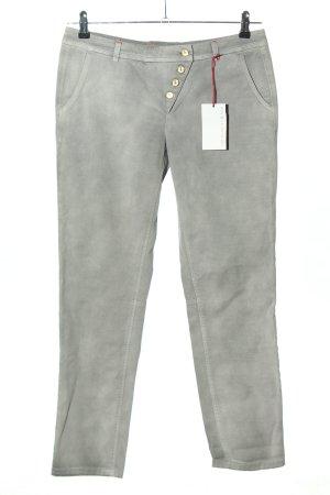 Trussardi Jeans Slim Jeans hellgrau Casual-Look