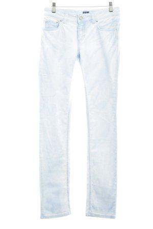 Trussardi Jeans Slim Jeans himmelblau-weiß Jeans-Optik