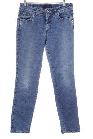 Trussardi Jeans Slim Jeans kornblumenblau Casual-Look