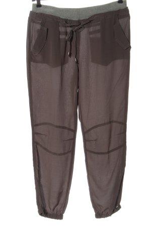 Trussardi Jeans Stoffhose braun-hellgrau Casual-Look