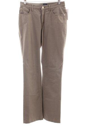 Trussardi Jeans Stoffhose graubraun Casual-Look