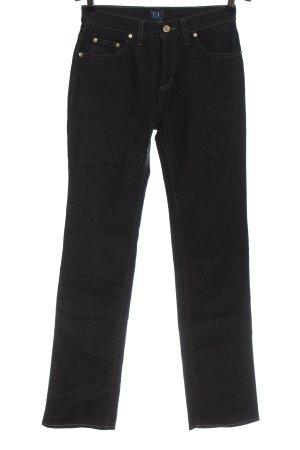 Trussardi Jeans Straight-Leg Jeans schwarz Elegant