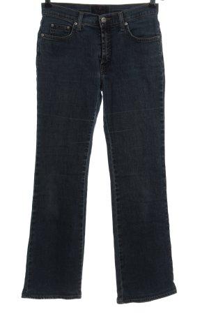 Trussardi Jeans Straight-Leg Jeans blau Casual-Look