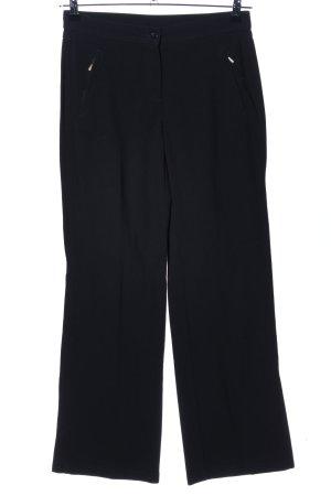 Trussardi Jeans Stretchhose schwarz Business-Look