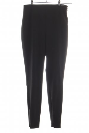 Trussardi Jeans Stretchhose schwarz Business-Look