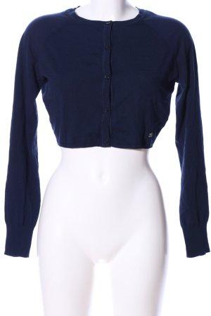 Trussardi Jeans Gebreide bolero blauw casual uitstraling