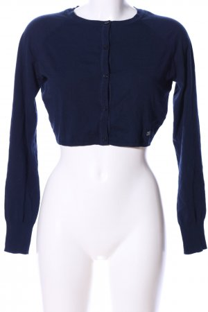 Trussardi Jeans Bolerko z dzianiny niebieski W stylu casual