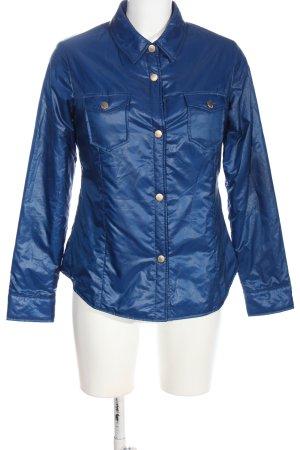 Trussardi Jeans Übergangsjacke blau Casual-Look