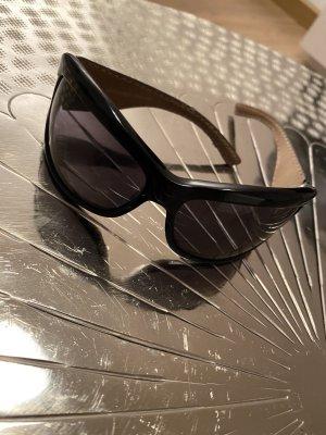 Trussardi Oval Sunglasses black