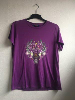 Trussardi T Shirt lila XL