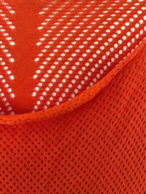 Trussardi Tunique de plage orange-orange fluo