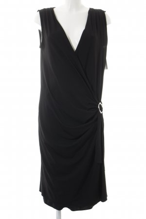 Trussardi Wickelkleid schwarz Elegant