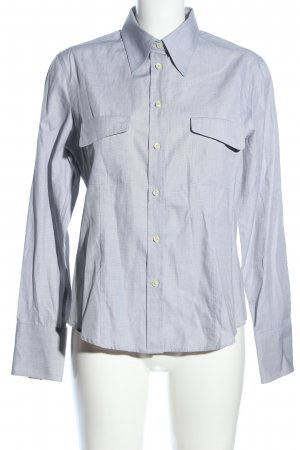 Trust Shirt Langarmhemd hellgrau Webmuster Business-Look