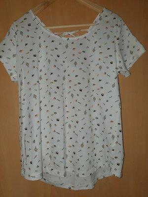 Boatneck Shirt white