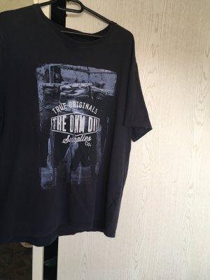 Batik Shirt dark blue