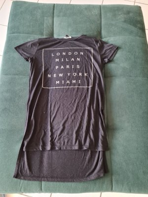 Atmosphere T-shirt nero-argento