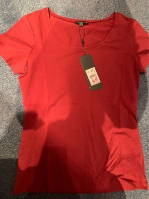 Street One T-shirt rouge carmin