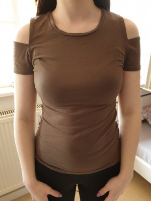 Amisu T-shirt olijfgroen