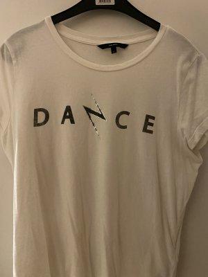 Vero Moda T-Shirt white-dark grey