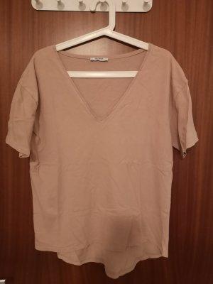 Zara T-shirt or rose